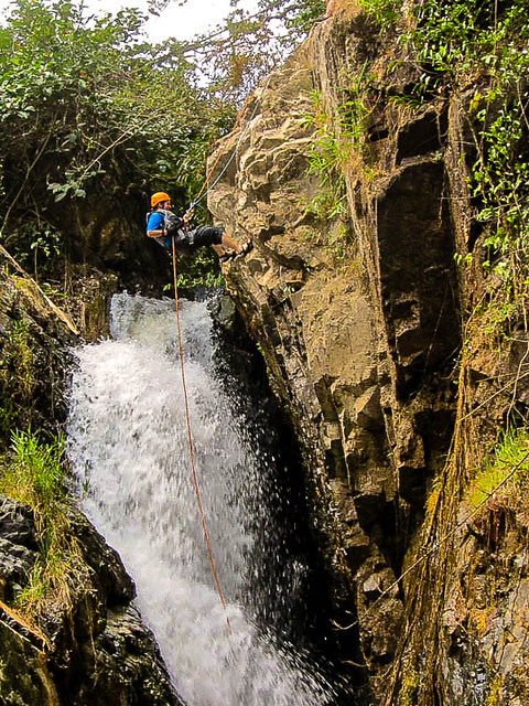 The Washing Machine - Canyoning in Dalat