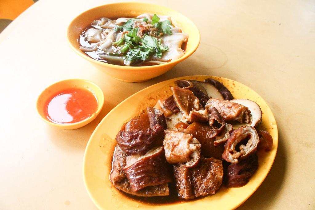 Kway Chap: Ah Keat Pig's Organ Soup