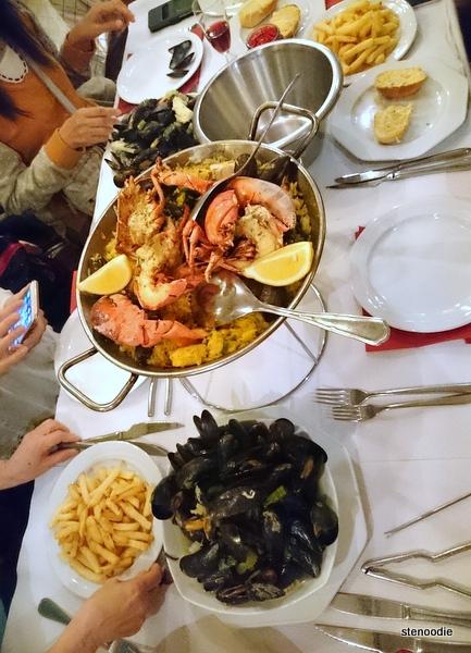 food at Le Calalou