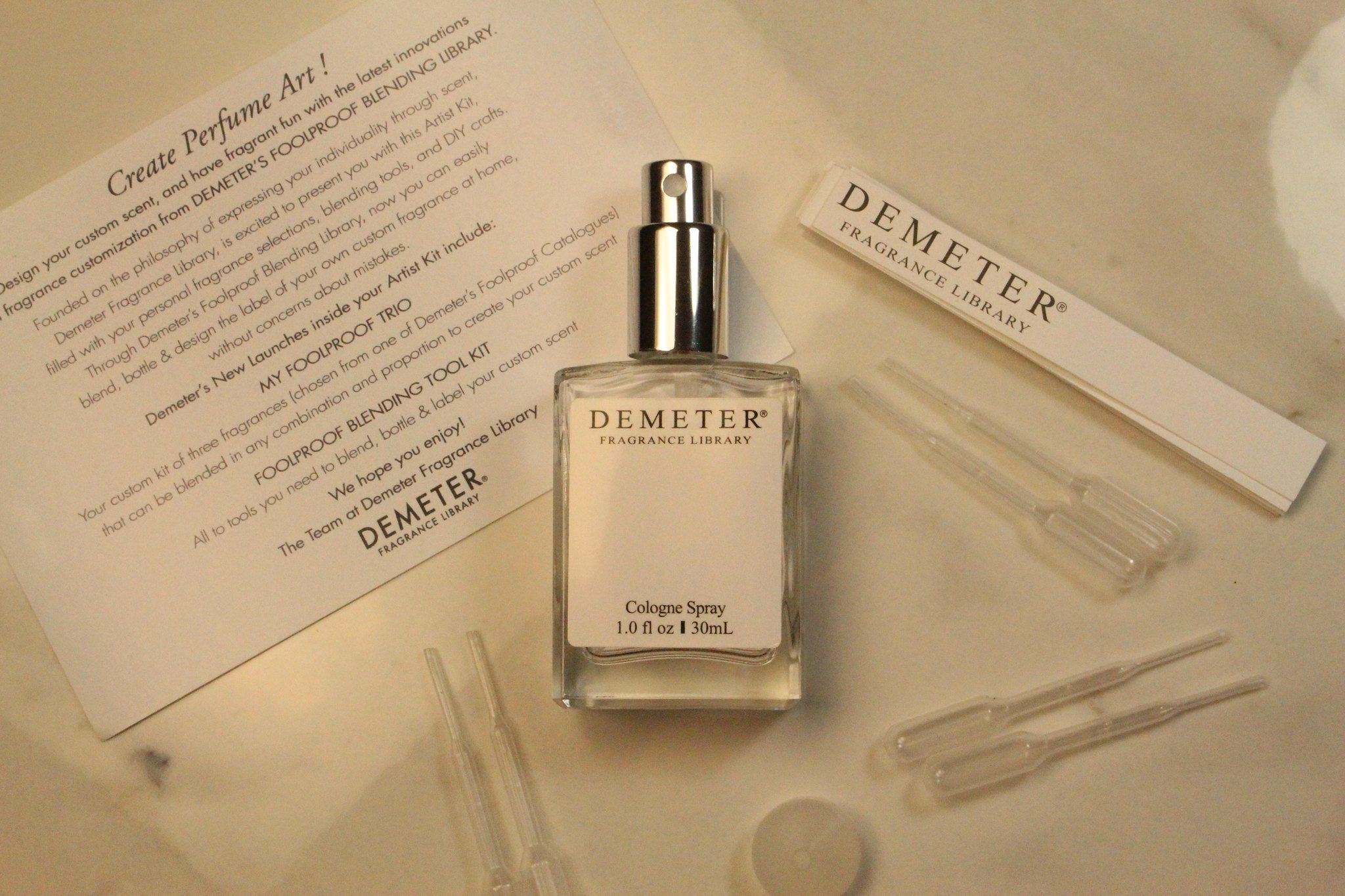 Demeter Fragrance Library Foolproof Blending Tool Kit