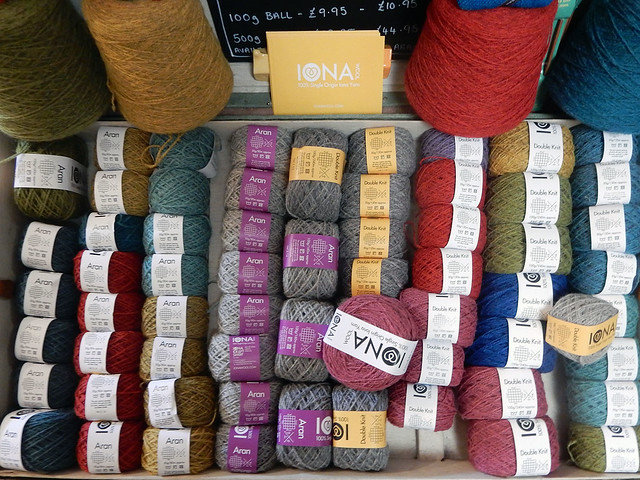 Iona Wool at Iona Craft Shop