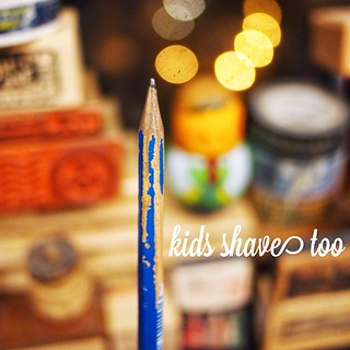 Kids shave too, only to their pencils. #staedtler #kids | by Patrick Ng