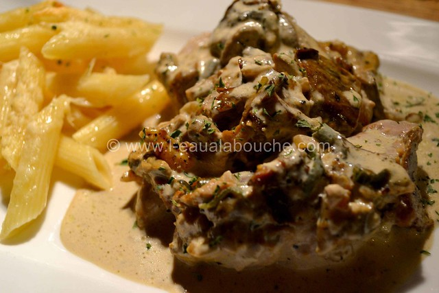 Filets Mignons aux Cèpes & Penne Rigate Gratinés © Ana Luthi Tous droits réservés  016