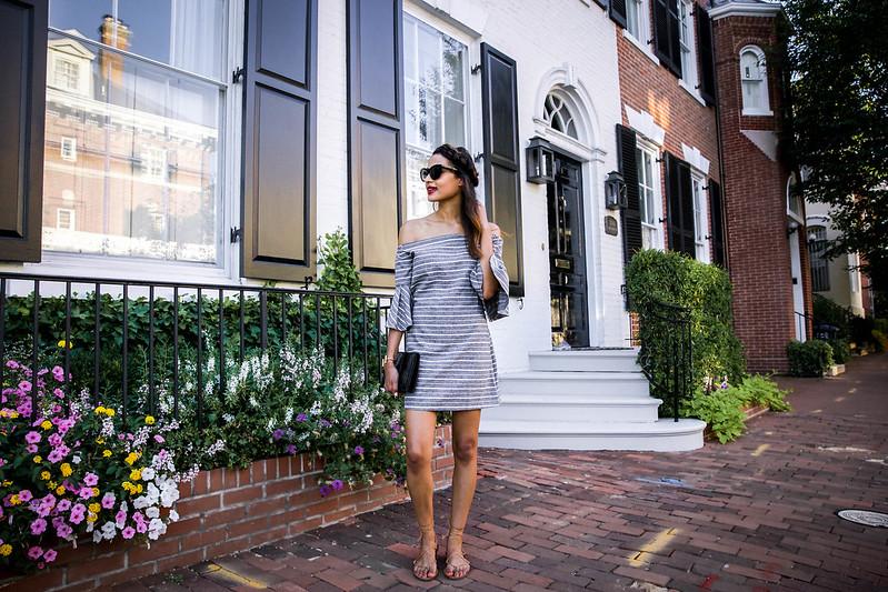 chicwish gray dress