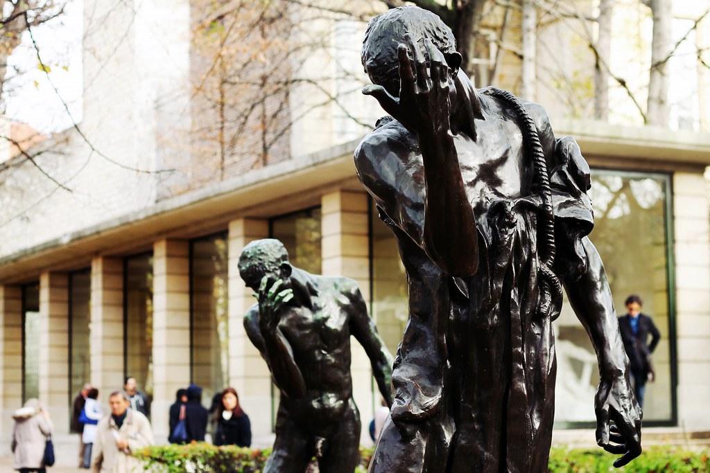 Drawing Dreaming - visitar o Museu Rodin - jardim