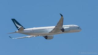 Airbus A350 Cathay Pacific msn 032 F-WZGA