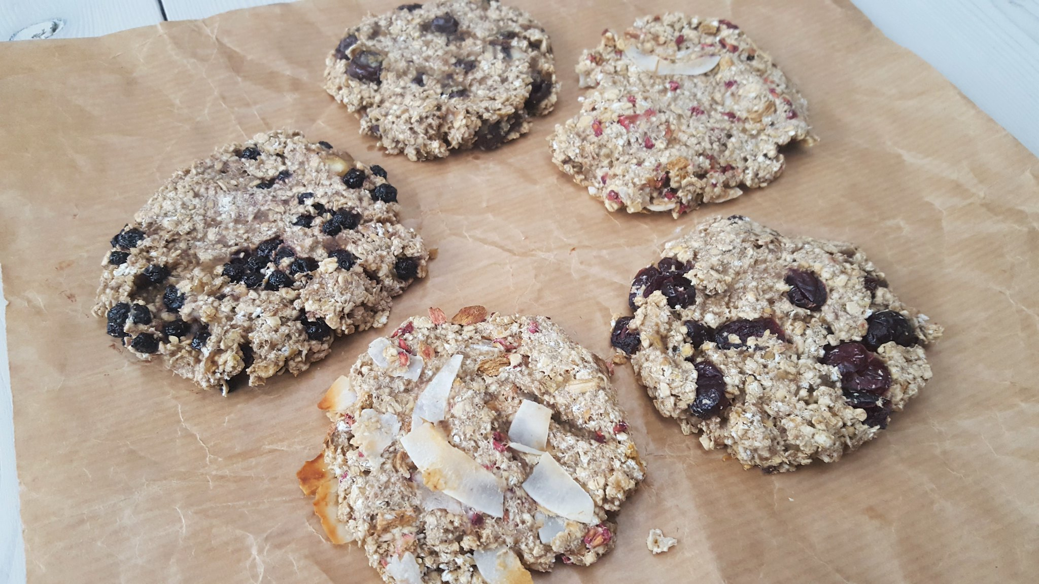 Recipe for Homemade Healthy Banana-oat Cookies