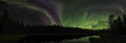 Autumn Auroras Finland