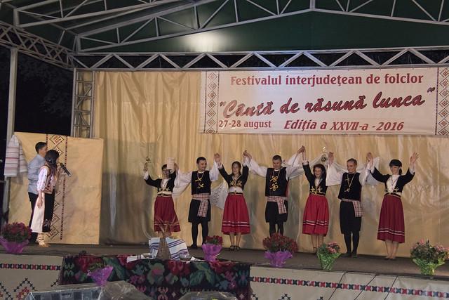 """ANSAMBLUL DE DANSURI GRECEȘTI """"PANDORA"""" Brăila Ziua a-2-a Festivalul Folcloric """"Canta de rasuna lunca"""" - Tecuci - 28 august 2016"""