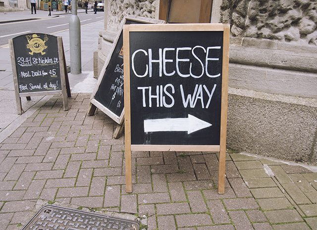 being little: bristol city guide - st nicks market bristol cheesemonger sign