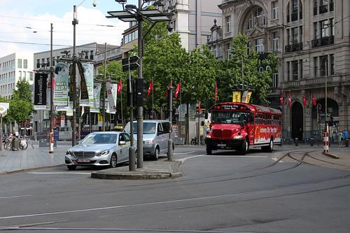Traffic in Antwerp