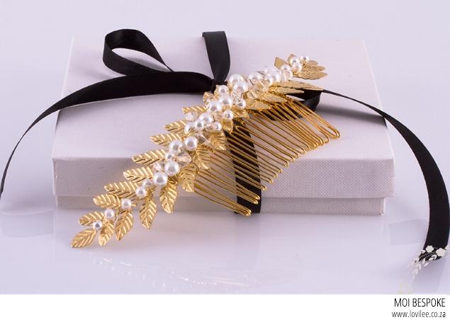 Moi Bespoke bridal hair accessories
