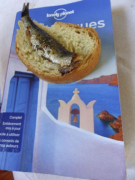 sardines grecques