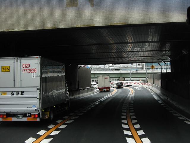 阪神高速道路と朝日新聞社ビル (5)