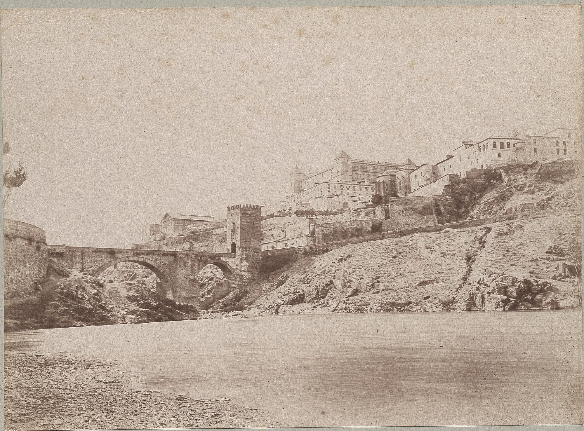 Puente de Alcántara en 1886 © Archives départementales de l'Aude