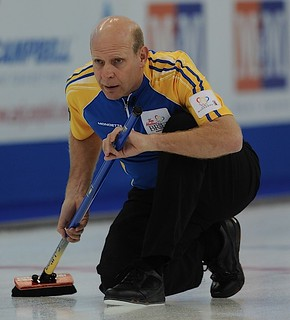 Edmonton Ab.Mar6,2013.Tim Hortons Brier.Alberta skip Kevin Martin.CCA/michael burns photo | by seasonofchampions