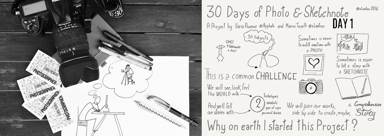 Day 01. Ma perchè ho iniziato questo progetto? - Why on earth I started this project?