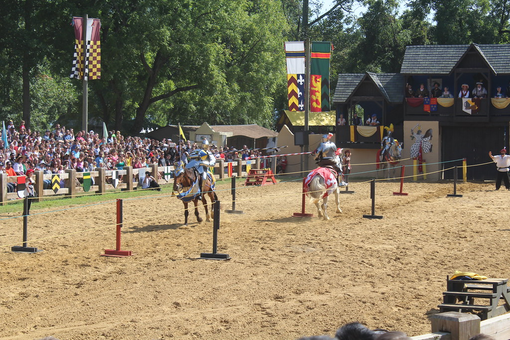 Jousting at the Maryland Renaissance fair