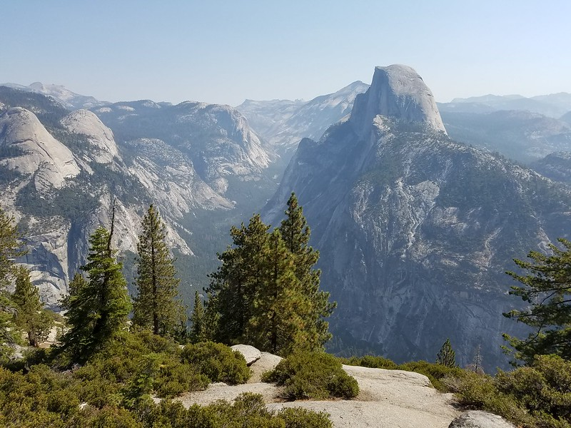 Yosemite National Park • Glacier Point and Half Dome