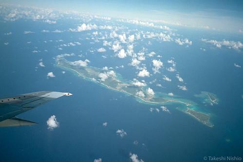 holding over Iheya-island