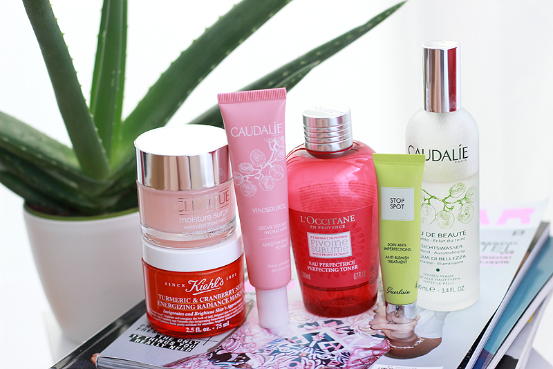 Recent skin care bits
