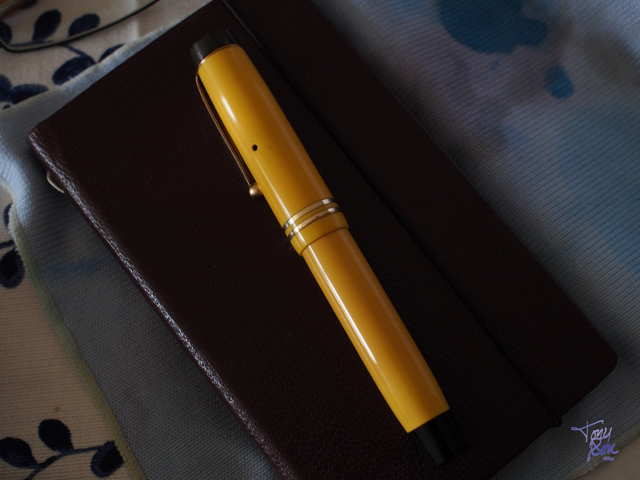 Parker Duofold Jr Mandarin Yellow