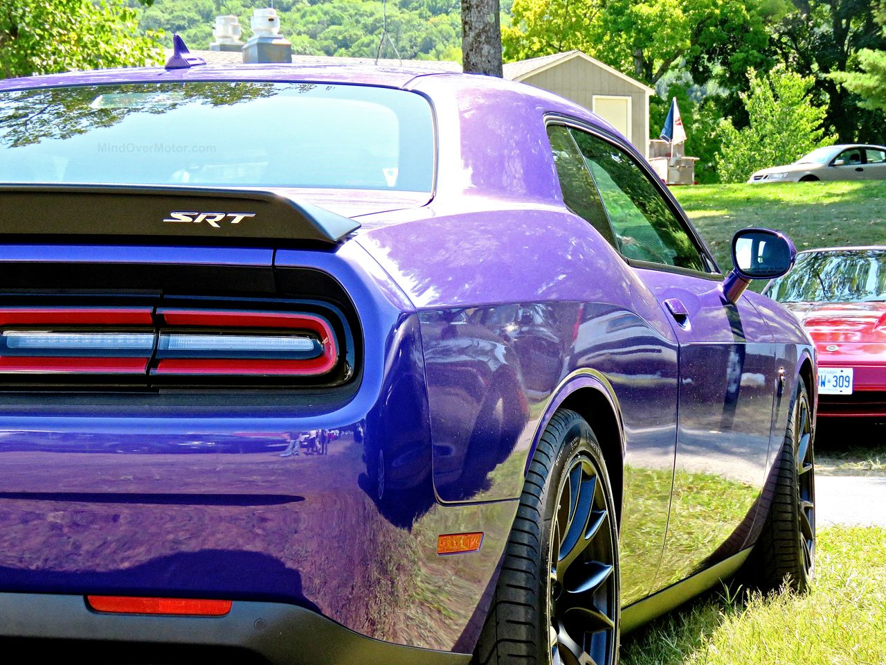 Purple Dodge Challenger Hellcat 5