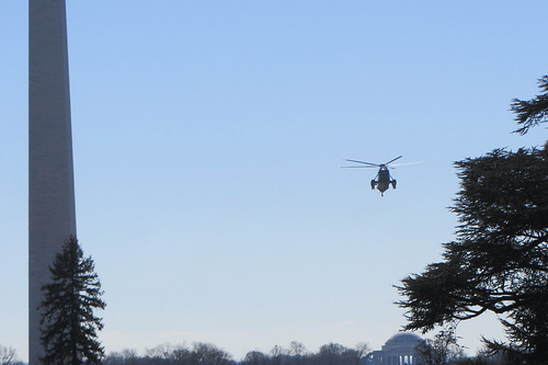 Marine One coming to the White House | by WilliamKoenig