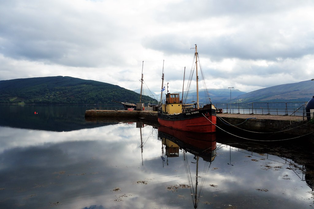 Loch Fyne at Inveraray, Scotland