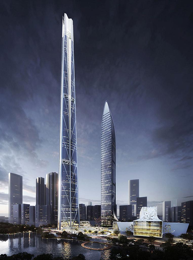 H700 Shenzhen Tower: башня на 700 метров
