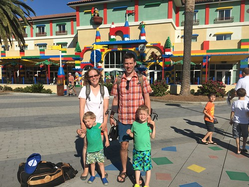 Family at Legoland Hotel