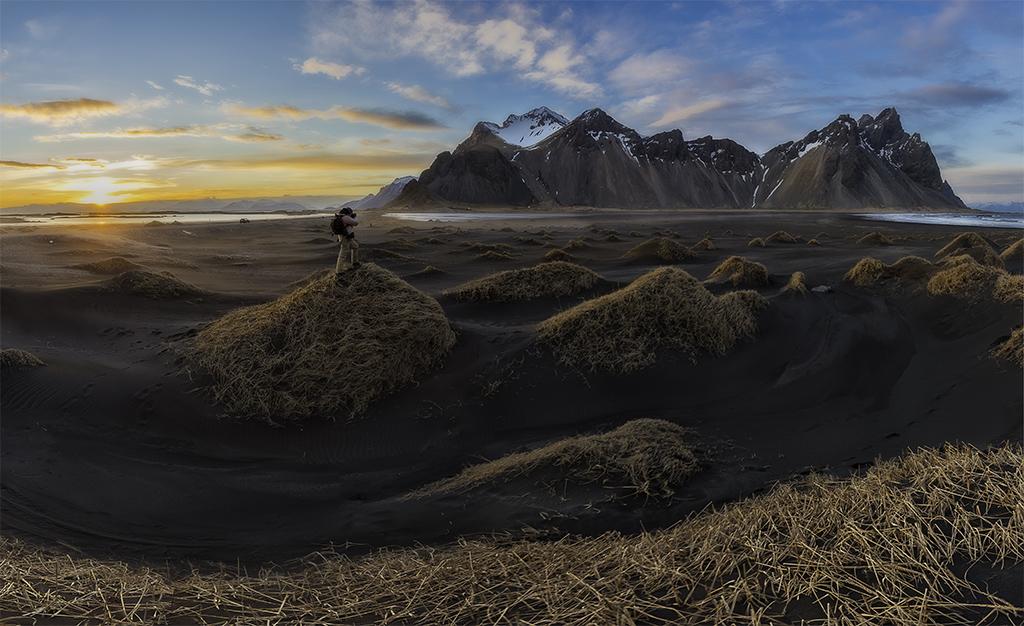 AV08 Juliocastro (Islandia) - Perdido en Islandia - Tomada en Stokksnes, Islandia el 26032016