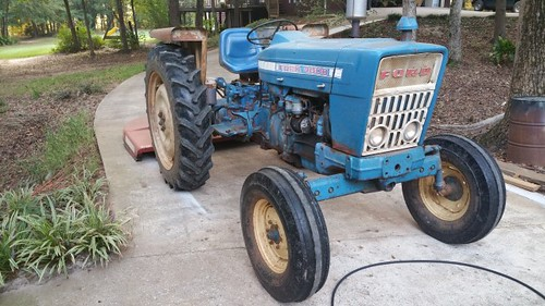 Ford 4000 Diesel Tractor : Ford tractor projects mostly miata