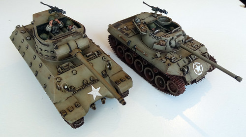 Bolt Action - US Tank Destroyer & German Sd.Kfz 7