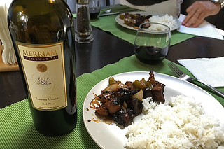 Merriam Vineyards - 2010 Miktos stirfry