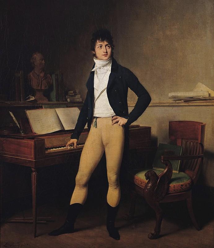 Louis Léopold Boilly - François-Adrien Boïeldieu