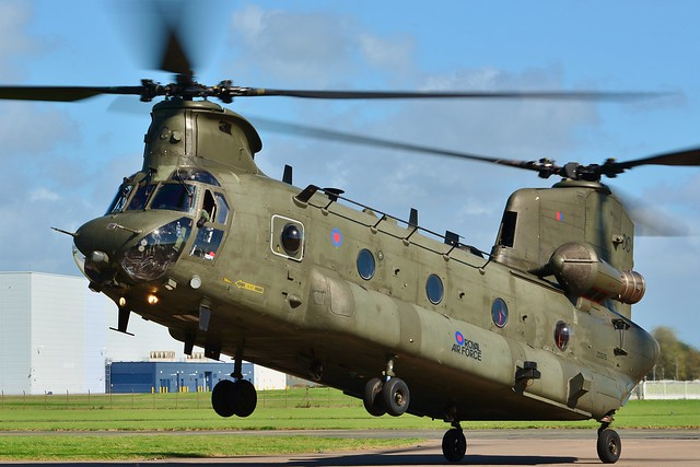 Chinook HC.4 ZD575 DC 08 Sep 16