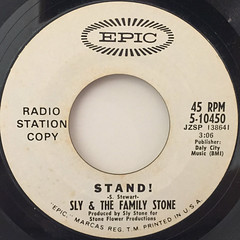 SLY & THE FAMILY STONE:STAND!(LABEL SIDE-B)