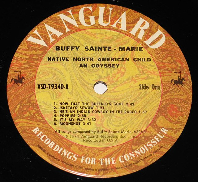 BUFFY SAINTE-MARIE NATIVE NORTH-AMERICAN CHILD AN ODYSSEY