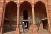 Agra - Fort columns