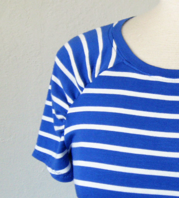 blue stripe tee peek