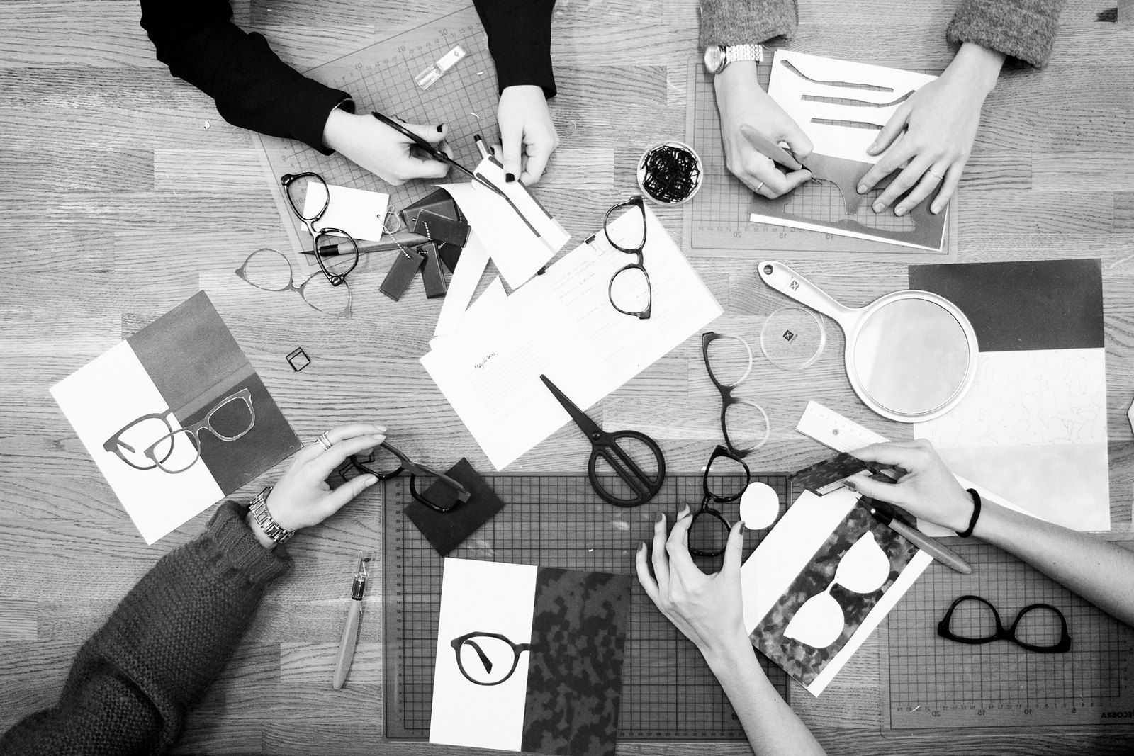 design day mister spex behind the scenes blogger workshop bloggers glasses collection creating diy art selfmade how to beauty beautiful fun girlfriends ricarda schernus fashionblogger cats & dogs modeblog berlin fashionblogger 3