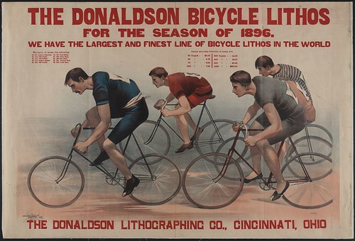 Donaldson Bicycle Lithos [of 1896]