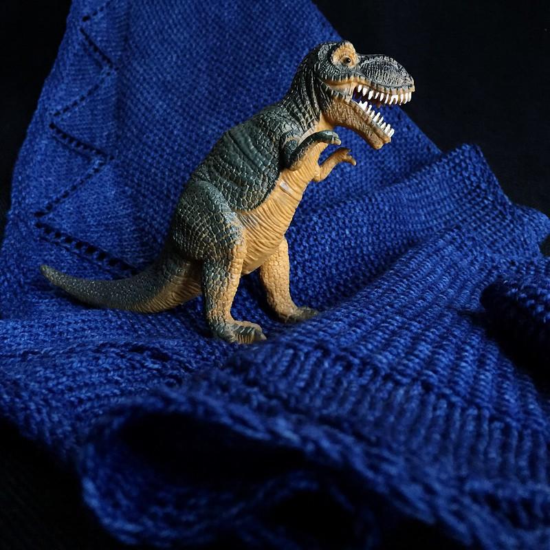 Tyrannosaurus Shawl