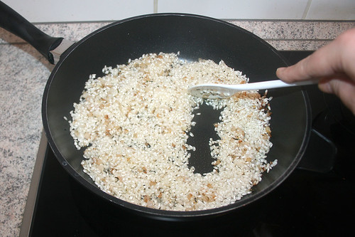 31 - Reis glasig andünsten / Sauté rice