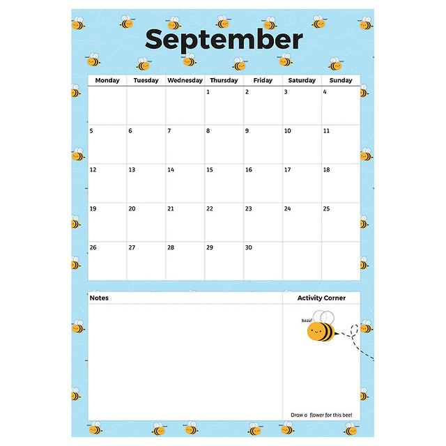 Free September Printable Planner