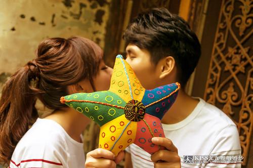 [高雄婚紗推薦]Kiss九九為我和歐爸拍出唯美又韓風的婚紗照 (7)