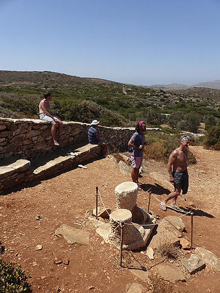 autour du Kouros