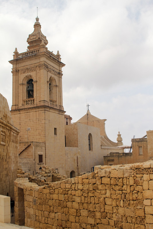 The World In My Pocket - Trip to Gozo - Church inside the Cittadella of Rabat