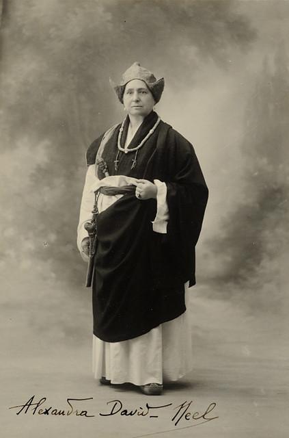 Alexandra David-Néel in Tibet, 1933. From wikipedia.org